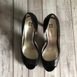 Anne Klein Black Heels 11